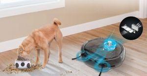 robot aspirador para pelo animales