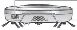 parte posterior del aspirador hombot lg