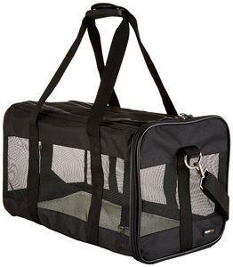 trasportin perro amazonbasics flexible