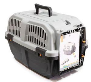 BPS (R) Transportín plástico para perros y gatos Mascota Caja de Transporte