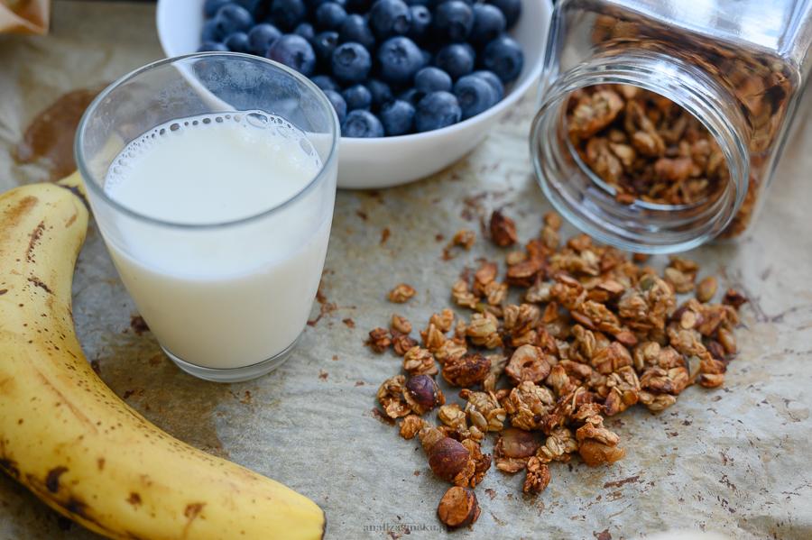 Bananowa granola