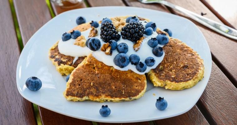 Owsiane pancakes