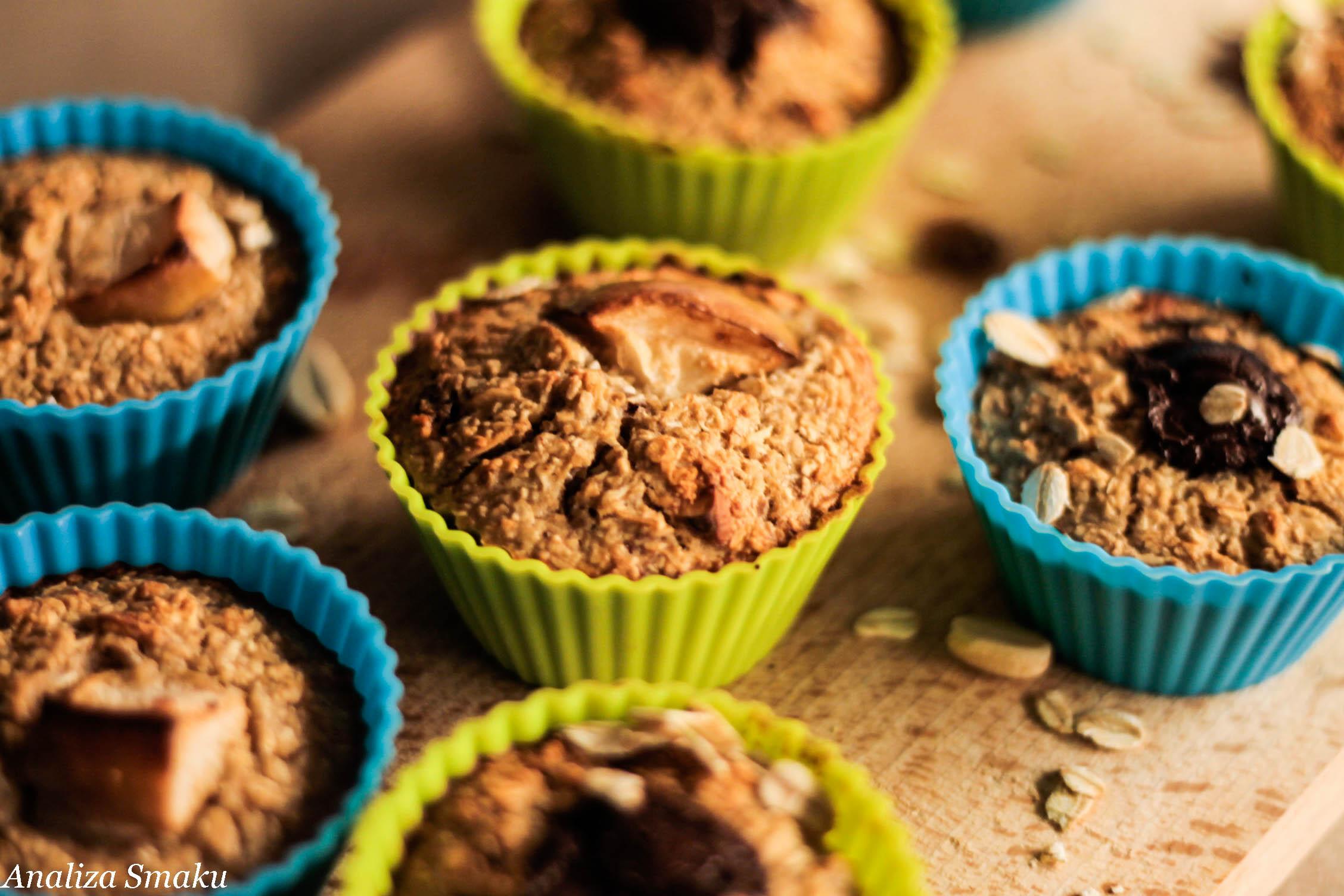 Śniadaniowe muffinki owsiane