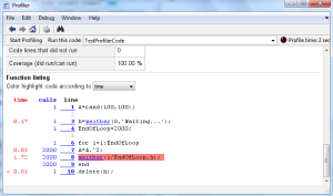 ProfilerCodeView_analizsimulasyon-300x177 Matlab ile İyi bir Kod Yazmanın Gizli Sırrı