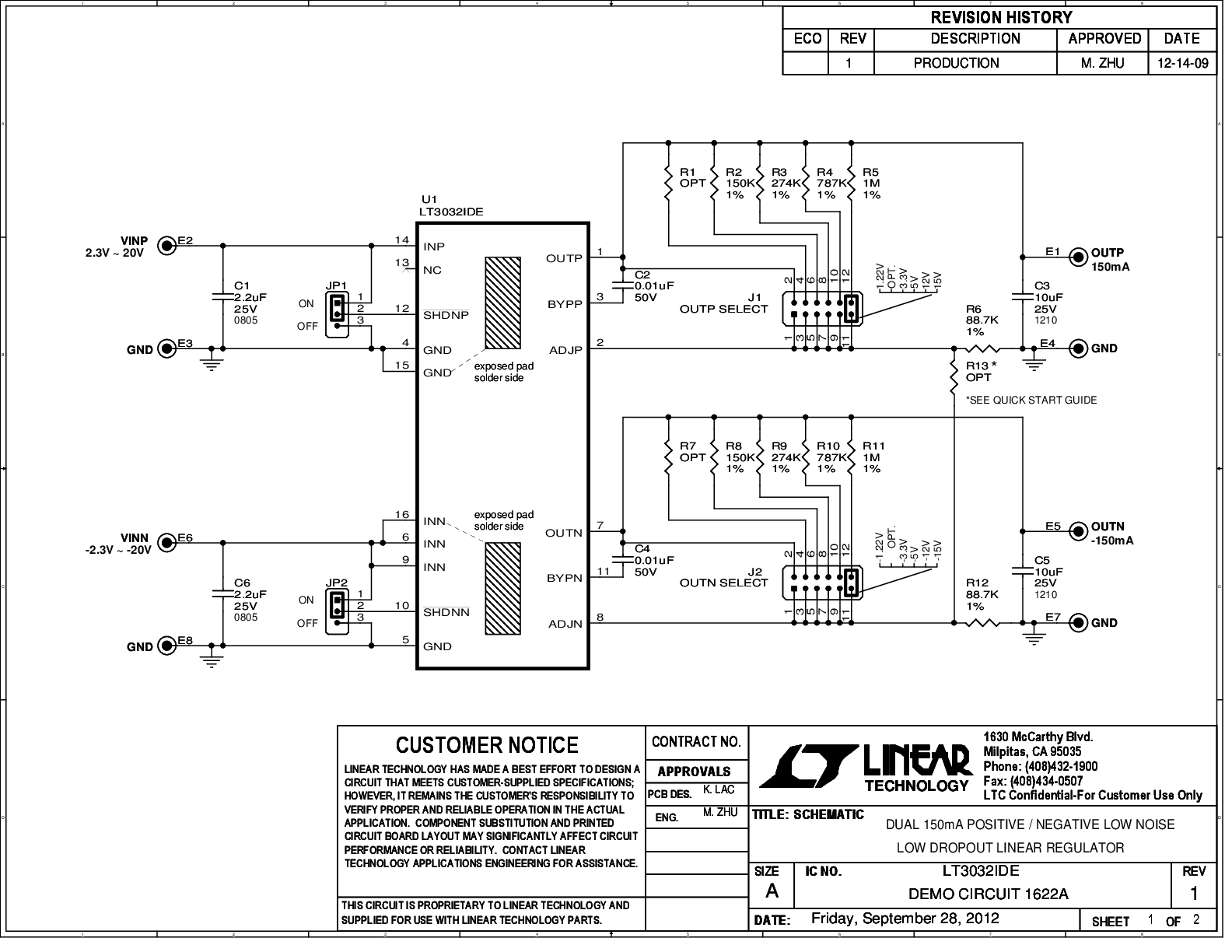 LT3032 Series Datasheet And Product Info