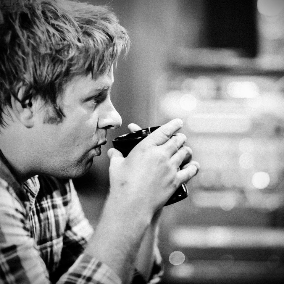 THE NEVER ENDING PAGEANT — In the Studio, Recording, Making Tea and Drinking with Colin Clyne