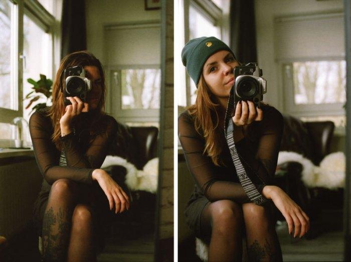 Canon EOS 50E, analoog, analoge camera, canon, lomography 800, analoge kiekjes, analog selfie, selfie, tini groen