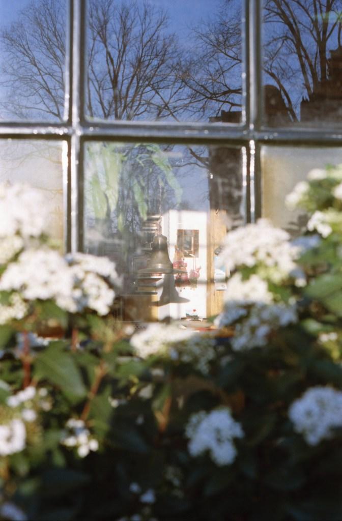 Amsterdam, doorkijkje raam amsterdams huisje