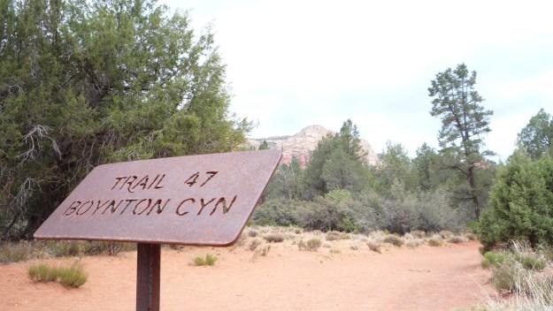 Sedona Vortex Boynton Canyon Trail