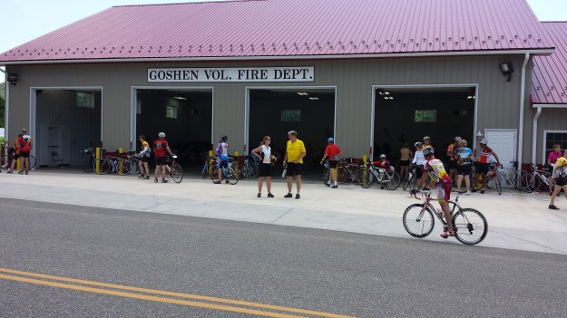 Goshen Fire Station rest stop