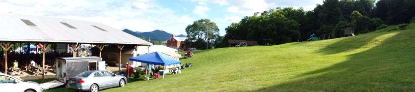 Pavilion at the campsite