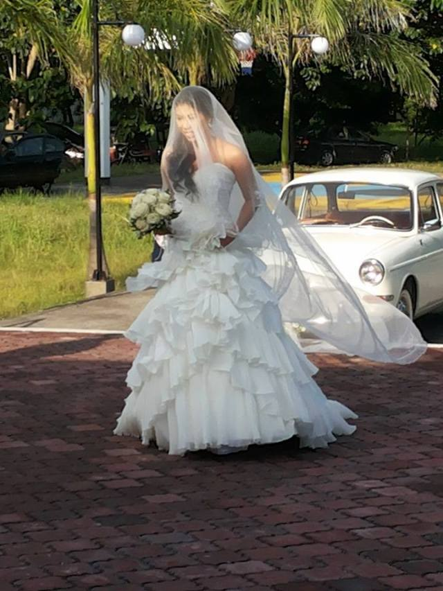 Here I am on my wedding day. :)