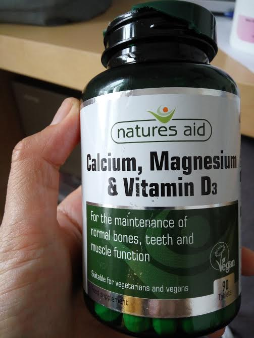 This is the magnesium content supplement I am currently taking.