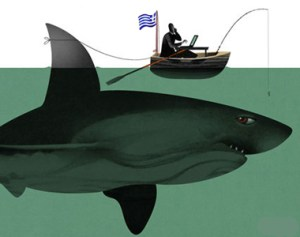 Στο-στόχαστρο-των-αγορών,-καρχαρίες-Εξ.