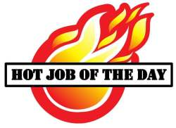 Hot job of the day