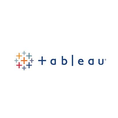 Tableau software large logo on the IIAR website