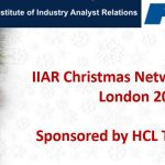 IIAR London Christmas Networking Party 2019 - Sponsored by HCL