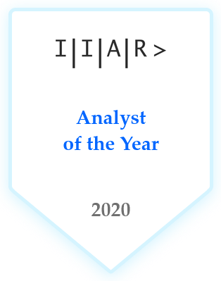 Analyst Relations professional of the Year