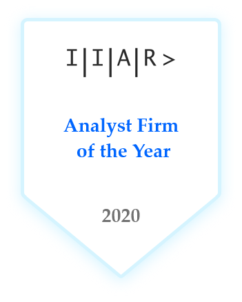 IIAR> Analyst Firm of the Year 2020