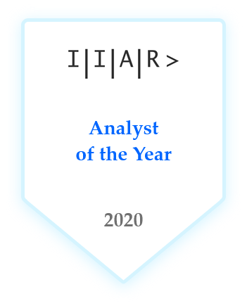 IIAR> Analyst of the Year 2020
