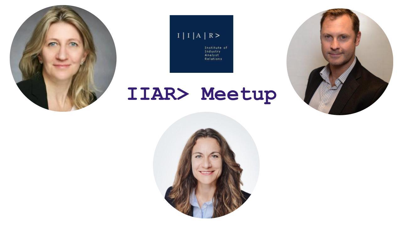 IIAR> Monthly Meet-up Mar'21