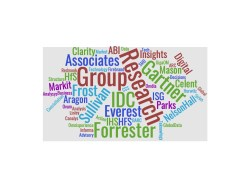 analyst firms wordcloud