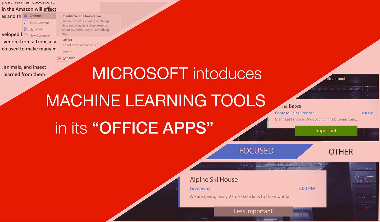 machine learning tool