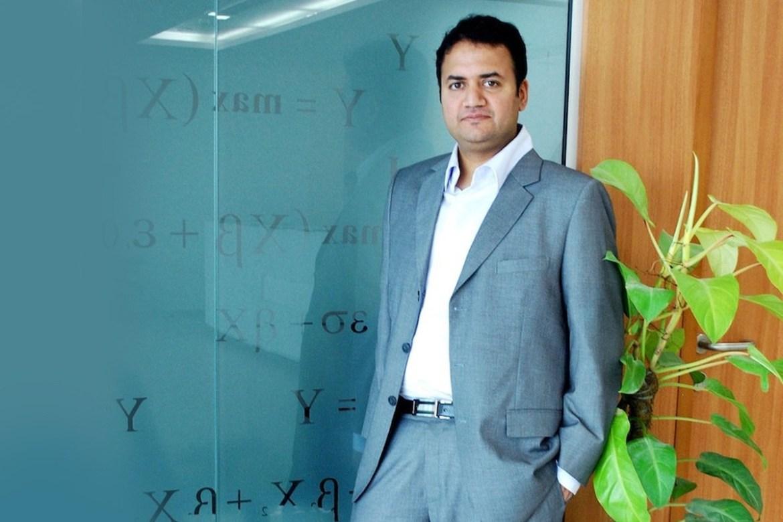 File photo of Mu Sigma Chaiman Dhiraj Rajaram