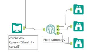 Alteryx Field Summary Tool