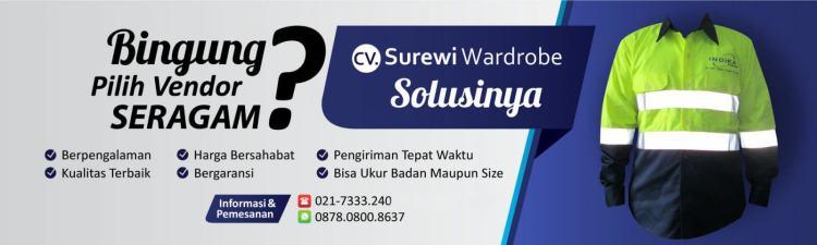 Konveksi Seragam Kerja Jakarta Surewi Wardrobe Ahlinya