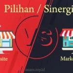 Jualan via Website vs Marketplace: Pilihan atau Sinergi?