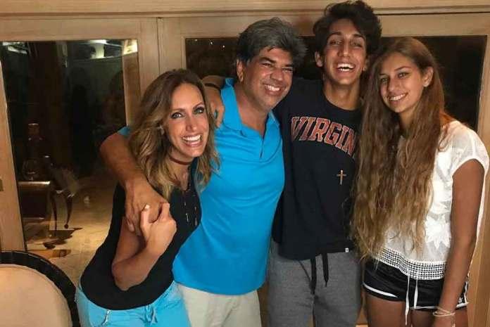 Apenas el pasado 27 de julio Lili y sus hijos le celebraron su cumpleaños a Lorenzo