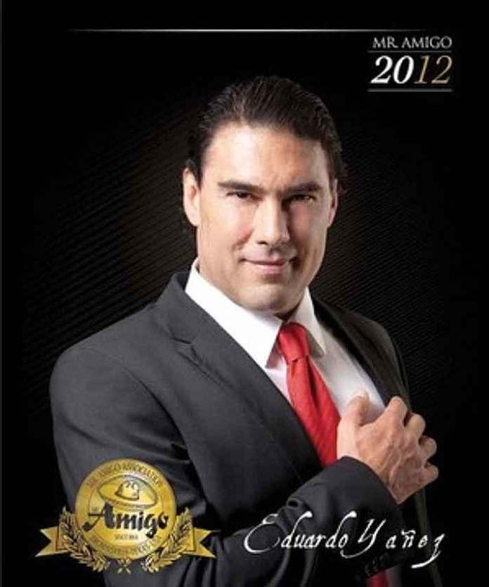 En 2012 fue nombrado Mr. Amigo, o sea Embajador de la Hermandad entre México y EU