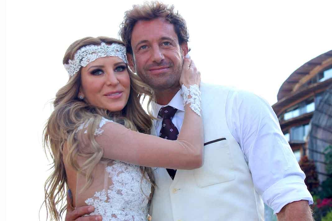 Geraldine y Gabriel se casaron en febrero del año pasado en un hotel de Valle de Bravo