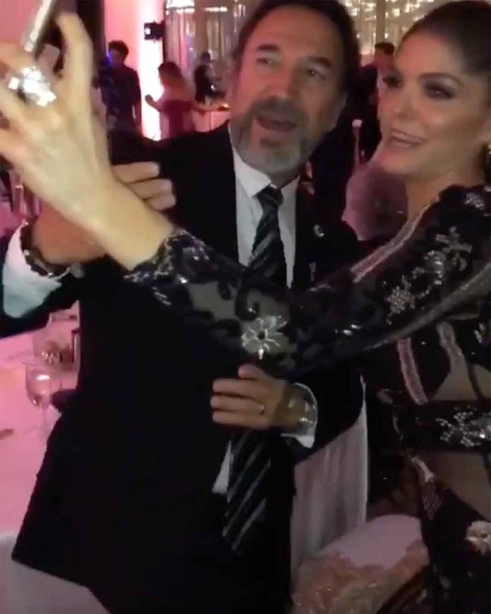 Una selfie cantada con Marco Antonio Solís y Ana Bárbara, a dueto