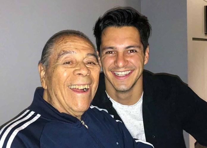 Por su talento y su voz, Lucho nombró a su nieto Carlos Gatica su heredero musical