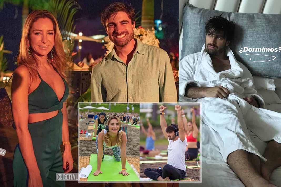 Qué mejor manera de conocer a tu nueva pareja que yendo de viaje juntos, como Geraldine y Santiago