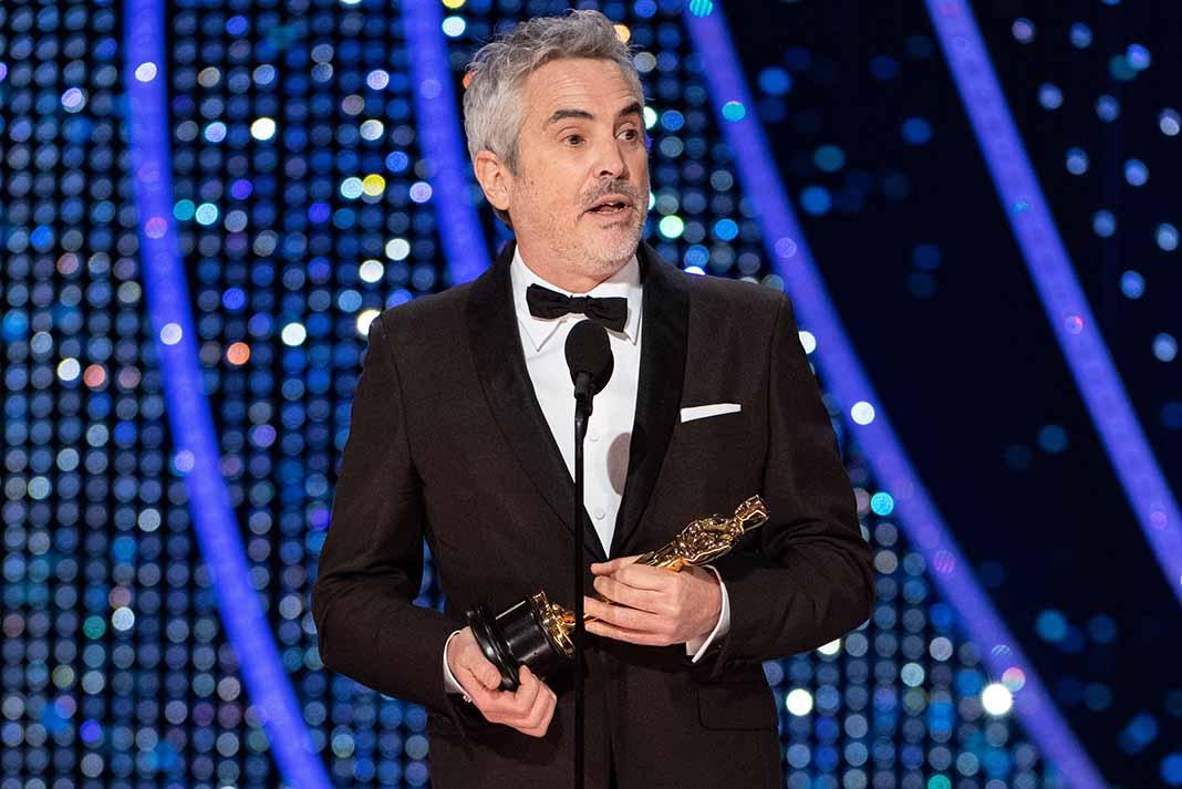 El mexicano Alfonso Cuarón se alzó con tres premios de sus 10 nominaciones
