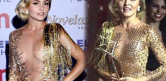 Angelique Boyer se llevó la noche por ganar mejor actriz y mejor vestido... al revés