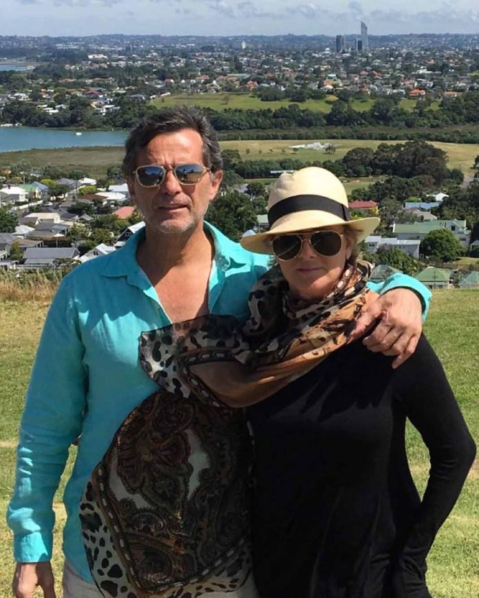 Humberto y Christian casi nunca compartían imágenes juntos, ya que ella era muy exigente con las fotos