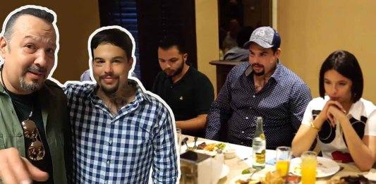 Pepe Aguilar reúne a la mesa a sus tres hijos