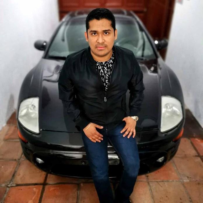 Este es el auto Eclipse en el que el vocalista fue asesinado de un tiro en la cabeza