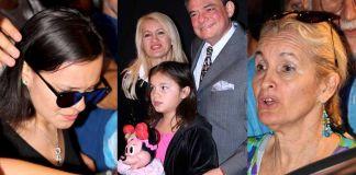La viuda de José José y su hija menor hicieron los preparativos para velar al Príncipe de la Canción
