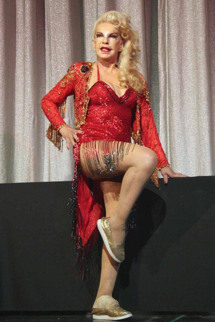 La bailarina tuvo momentos difíciles, pero siempre disfrutó cada trabajo que realizó