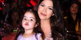 Ana Patricia y su hija Giulietta