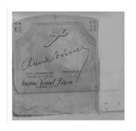 Tumba de Claude Venicel y Jeanne Venicel Lison