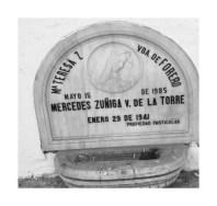 Tumba de María Teresa Vda De Forero y Mercedes Zuñiga V De la Torre
