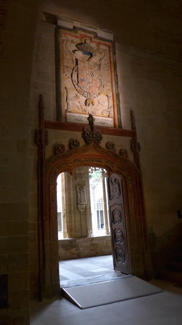 Puerta de Carlos I.