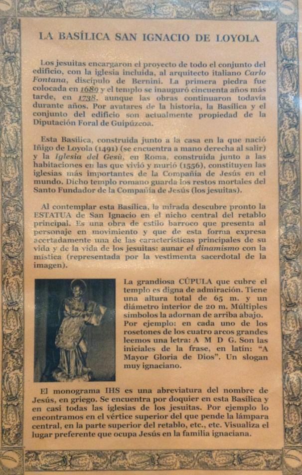 """""""Reseña sobre la Basílica""""."""