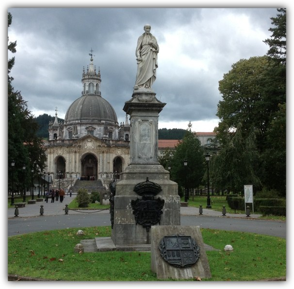 Estatua de San Ignacio.